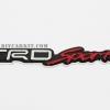 โลโก้ TRD Sport อลูมิเนียม