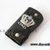 กระเป๋าใส่กุญแจรถยนต์ หนังดำ