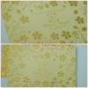 55074 การ์ดแต่งงานแนวนอน 2 พับ ขนาด 8 X 6 นิ้ว สีทอง (เข้ม,อ่อน)