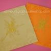 CG023 การ์ดจีนสี่เหลี่ยมพับ (มีให้เลือก 2 สี ทอง,ส้ม)