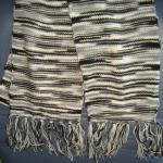 ผ้าพันคอไหมพรม#scf005 ขนาด17x180ซม.