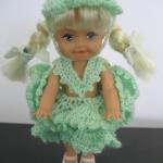 ตู๊กตาโครเชต์ #Doll004