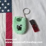 กระเป๋าอเนกประสงค์พวงกุญแจ #30-002 size4.5x7cm.