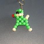 """พวงกุญแจสุนัขพุดเดิ้ล#AB017 ขนาด2"""""""