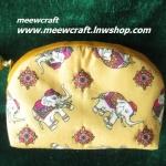 กระเป๋าสตางค์ ขนาดยาว13ซม.สูง10ซม. #055-007