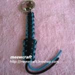 """พวงกุญแจเชือกร่มพร้อมตุ๊กตา #KT035 ยาว3.5"""""""