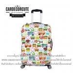 """Luggage protective cover 18 - 32"""" ถุงคลุมกระเป๋าเดินทาง ผ้าคลุมกระเป๋าเดินทาง กันรอย กันฝุ่น"""