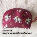 กระเป๋าสตางค์ ขนาดยาว13ซม.สูง10ซม. #055-008