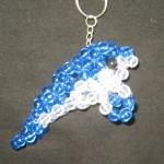 """พวงกุญแจปลาพะยูน #MNN004 ขนาด4.5"""""""
