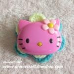 ไหมพรมhello kitty ใหญ่ กว้าง8 ซม. #044-002
