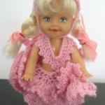 ตู๊กตาโครเชต์ #Doll006