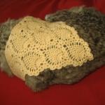ผ้าพันคอสุนัขโครเชต์(Crochet dog scraft)