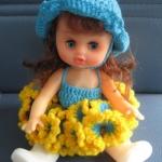 """ตุ๊กตาไหมพรม #Doll007 ขนาด6"""""""