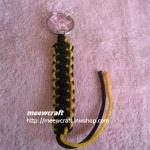 """พวงกุญแจเชือกร่มพร้อมตุ๊กตา #KT038 ยาว3.5"""""""