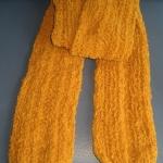 ผ้าพันคอไหมขนแกะ#scf010 ขนาด11x152ซม.