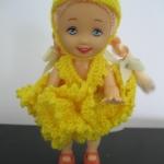 ตู๊กตาโครเชต์ #Doll003