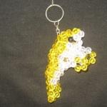 """พวงกุญแจปลาพะยูน #MNN008 ขนาด4.5"""""""