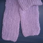 ผ้าพันคอไหมขนแกะ#scf013 ขนาด12x146ซม.