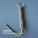 """พวงกุญแจเชือกร่มคละแบบ #PLK006 ขนาด3.7"""""""