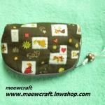 กระเป๋าสตางค์ ขนาดยาว13ซม.สูง10ซม. #055-015