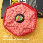 """กระเป๋าสตางค์ 6 แฉกแบบ 2 สี ขนาด 3.7"""" #099-061"""