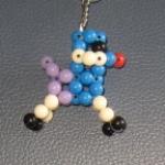 """พวงกุญแจสุนัขพุดเดิ้ล#AB028 ขนาด2"""""""