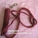 """พวงกุญแจเชือกร่มแบบยาว #KL010 size5""""*16"""""""