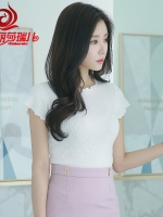 เสื้อทำงาน เสื้อลูกไม้ชีฟอง สีสวย แบบหวาน