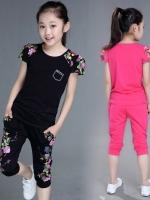 เสื้อผ้าเด็ก ขายเป็นเซ็ตเสื้อ+กางเกง ชุดเด็ก