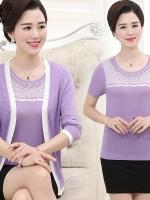 เสื้อคุณแม่ เสื้อผู้สูงอายุ วัดไซส์โดยประมาณตามน้ำหนักตัว XL:45-55กิโล/2XL:56-60กิโล/3XL:61-70กิโล/4XL:71-80 กิโลกรัม