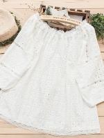 เสื้อผ้าลินิน มีขนาดไซส์เดียว อกประมาณ100ซม.หรือประมาณ 40นิ้ว แขนพองคอหลวมช่วงตัวระบาย