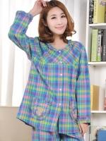 ชุดนอนแบบเสื้อ+กางเกง เลือกไซส์ตามน้ำหนักผู้สวมใส่ M:35-45กิโล./L:45-55 กิโล./XL:55-60 กิโล./2XL:60-70 กิโลกรัม