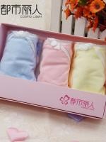 กางเกงในผู้หญิง ลายน่ารัก เป็นเซ็ต GIFT BOX เลือกไซส์ตามน้ำหนักตัว M:38-49 KG./L:50-60 KG./XL:60-70กิโลกรัม