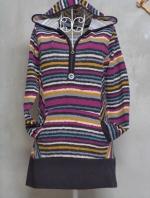 เสื้อกันหนาวไหมพรมตัวยาว ไซส์ L Made In Korea
