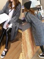 เสื้อคลุมกันหนาว ไหมพรม เกาหลีสุดๆ พร้อมส่ง ดูดีเหมือนแบบ ใครชอบแนวเกาหลีๆ จัดเลยนะคะ