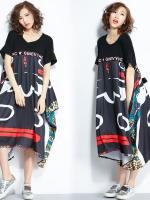 JY25919#เสื้อOversizeสไตล์เกาหลี เสื้อโอเวอร์ไซส์แต่งลายแนวๆ อก*100ซม.ขึ้นไปประมาณ40-42นิ้วขึ้น