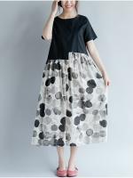 JY25901#เสื้อOversizeสไตล์เกาหลี เสื้อโอเวอร์ไซส์แต่งลายแนวๆ อก*100ซม.ขึ้นไปประมาณ40-42นิ้วขึ้น
