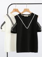 เสื้อทีเชิ้ตแขนสั้นสำหรับสาวอ้วน เสื้อสาวอ้วน