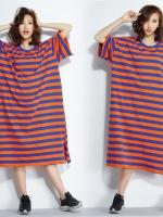 JY25917#เสื้อOversizeสไตล์เกาหลี เสื้อโอเวอร์ไซส์แต่งลายแนวๆ อก*100ซม.ขึ้นไปประมาณ40-42นิ้วขึ้น