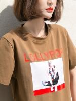 เสื้อยืดวัยรุ่น ลายน่ารัก เลือกไซส์ตามน้ำหนัก S:40-45/M:45-50/L:51-60 กิโลกรัม