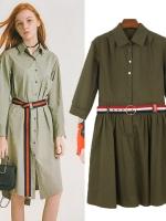 เดรส เสื้อตัวยาวสไตล์ยุโรป สินค้าหมดเร็วมาก กรุณาเช็คสั่งทาง LINEนะคะ