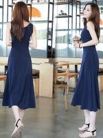 ชุดเดรสยาวสวยๆ สไตล์เกาหลี