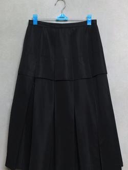 กระโปรงยาวสีดำ แบรนด์ TRUNK by Hiroko Koshino