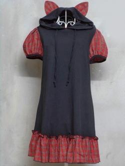 เดรสแฟชั่นญี่ปุ่น Gothic Lolita