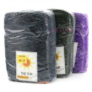 """เชือกร่ม """" THE SUN """" (500g) ดิ้นสี"""
