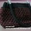 กระเป๋าถือเชือกร่มสตอเบอรี่ รหัสPB006 ก้นกระเป๋า 7x32ซม. สูง 20ซม. thumbnail 5