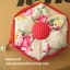 """กระเป๋าสตางค์ 6 แฉกแบบ 2 สี ขนาด 3.7"""" #099-073 thumbnail 4"""