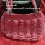 กระเป๋าถือเชือกร่ม รหัสPB013 ก้นกระเป๋า 9x24ซม. สูง 21ซม. thumbnail 5