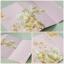 55006 การ์ดแต่งงานแนวตั้งลายดอกไม้ thumbnail 1