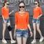 เสื้อแฟชั่นสไตล์เกาหลี M-2XL thumbnail 1